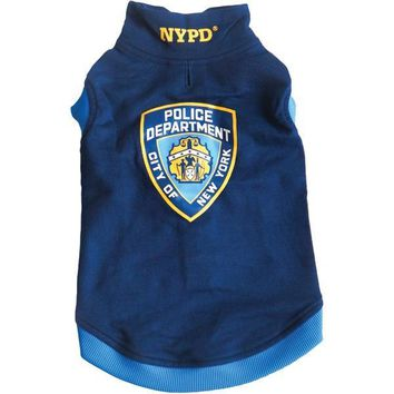 1d677c0ea Royal Animals 13Z1005r Nypd Dog Sweatshirt (Medium)