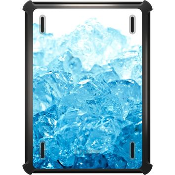 DistinctInk™ OtterBox Defender Series Case for Apple iPad - Clear Blue Ice