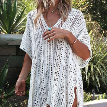 Sexy Knitted Pareo Beach Cover up Saida de Praia Swim suit Bathing Suit Tunic Women Crochet Bikini Robe De Plage Beach Dress