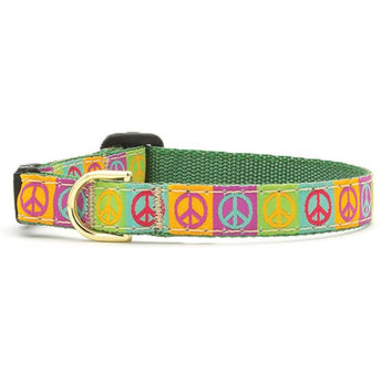 Up Country Peace Cat Collar
