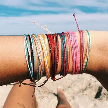 Pure Life Wax String Bracelets