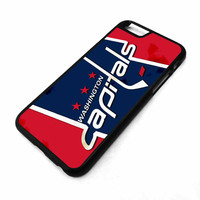 WASHINGTON CAPITALS Ice Hockey Team NHL iPhone 4/4S 5/5S 5C 6 6 Plus Case Cover