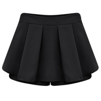 Pleated Trim Summer Shorts - OASAP.com