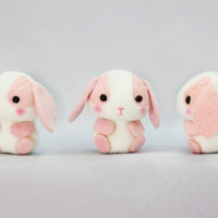 Strawberry Milk Bunny - Puchimaru Series All Stars