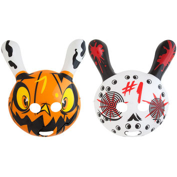 Halloween Dunny Masks by Brandt Peters
