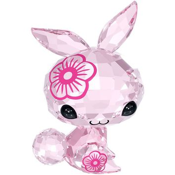Swarovski Pink Crystal ZODIAC Figurine MIMI THE RABBIT #5004522