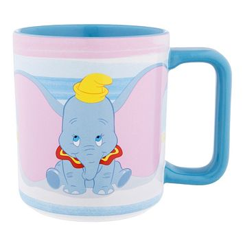 Disney Parks Dumbo Don't Just Fly Soar Ceramic Coffee Mug New