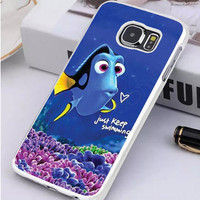 Finding Nemo Dory Swimming Samsung Galaxy S7 Edge Case  Sintawaty.com