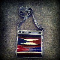 Vintage Navajo/Baja Cross Body Puch Purse.