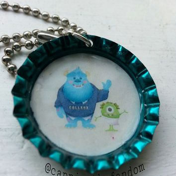 Monsters Inc Keychain