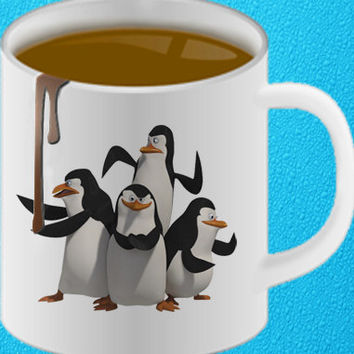 Madagascar - madagascar-penguin mug heppy coffee.