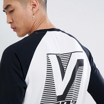 Vans Grand Raglan T-Shirt In White VA3HACYB2 at asos.com