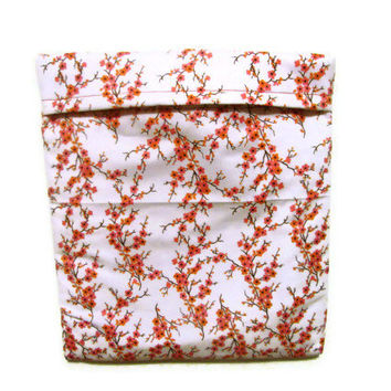 Microwave Potato Bag - Cherry Blossoms/ Pink and White Floral Print