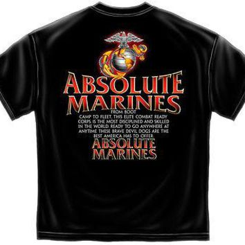 New ABSOLUTE MARINES T Shirt
