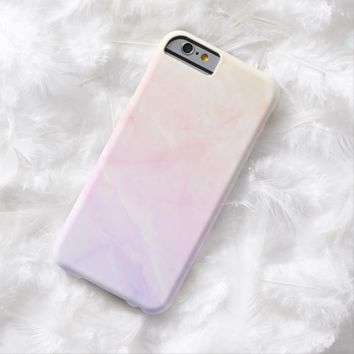 Claire Blossom Marble with luxury feeling Barely There iPhone 6 Case