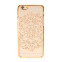 Rose Gold Flower Mandala Phone Case