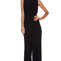 SOLACE London Sterling Jumpsuit in Black