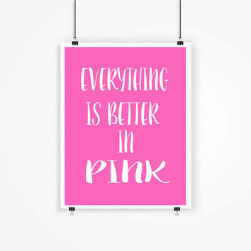Everything Is Better In Pink Kids Art Istressed S Tweens
