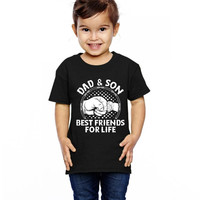 Dad And Son Best Friends For Life Toddler T-shirt