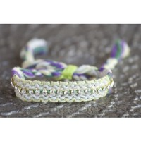 Jeweled Friendship Bracelets From Natural Life
