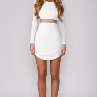 HelloMolly | Hush Hush White Dress