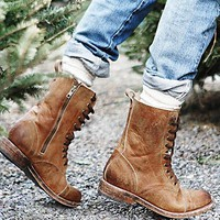 FREEBIRD by Steven Womens Fletch Lace Up Boot