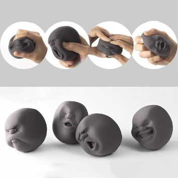 Decompression Toys-Doll Face