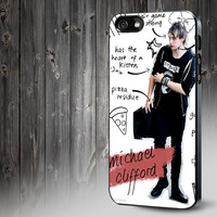 Michael Clifford 5 Seconds Of Summer Handmade Design Custom For Samsung Galaxy, iPod/ iPhone Case