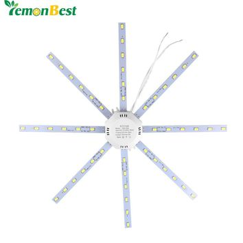 12W 16W 20W 24W LED Ceiling Lamp Modified Light Source Lamp Plate Octopus 5730SMD Cool /Warm White for Round Kitchen Bedroom