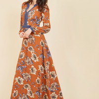 From a Pleasant Perspective Maxi Dress | Mod Retro Vintage Dresses | ModCloth.com