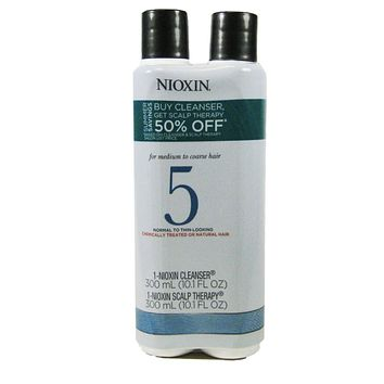 NIOXIN System 5 Cleanser & Scalp Therapy 10.1oz
