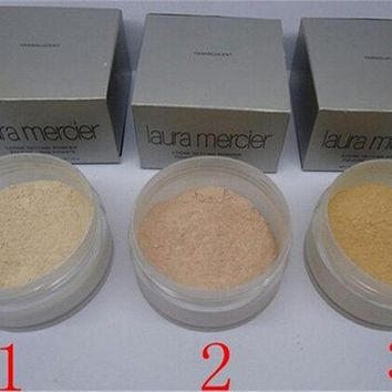 DCCKHY9 Loose Powder Laura Mercier Loose Authorised Makeup Waterproof Brighten Long-lasting Luxury powder Poudre Libre Fixante 1.oz./29g