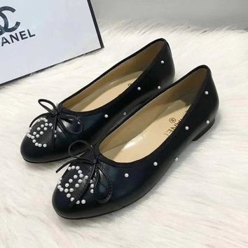 Chanel Women Fashion Casual Flats Shoes