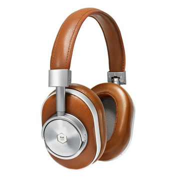 Cognac Tan Leather Wireless Headphones by Master & Dynamic