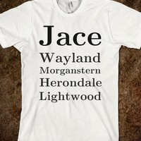 Jace Wayland Morganstern Herondale Lightwood - The Mortal Clothing