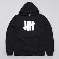 Undefeated 5 Strike Basic Pullover Hoody Black