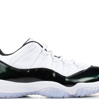 "AIR JORDAN 11 Retro Low, ""Emerald"""