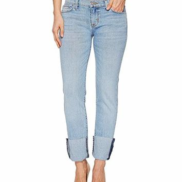 Hudson Tally Deep Cuff Crop Skinny in Gemini
