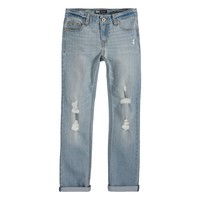 Levi's Billie Boyfriend Destructed Skinny Jeans - Girls