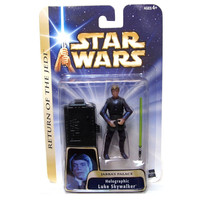 Holographic Luke Skywalker Star Wars Saga Collection #11 Action Figure