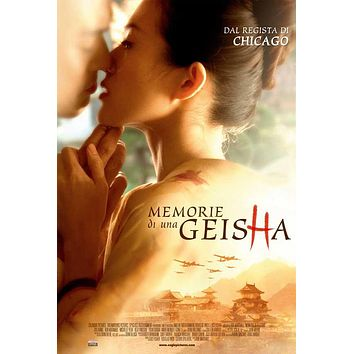 Memoirs of a Geisha (Italian) 27x40 Movie Poster (2005)