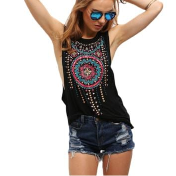 Vintage Tribal Top