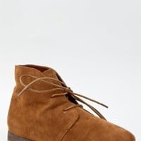 Breckelle's SANDY-61 Women Classic Lace Up Flat Desert Ankle Boot Bootie Shoe ZOOSHOO Tan Size 5.5 US