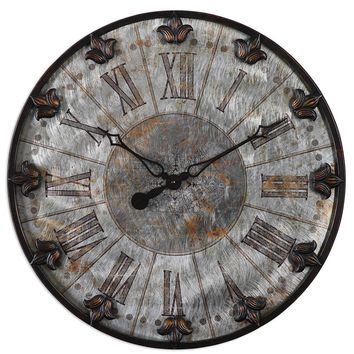 Artemis Antique Wall Clock By Uttermost