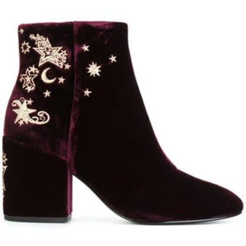 Ash Embroidered Ankle Boots - Farfetch