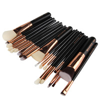 MAANGE 20 Pcs Professional Brush Blush Powder Foundation Cosmetic Brushes Soft Eye Shadow Women Makeup Brushes Set Gift #224723