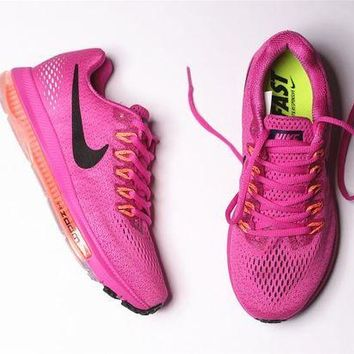 VOND4H nike zoom all out low 3/4 Zoom Air Max Pink 878671-600