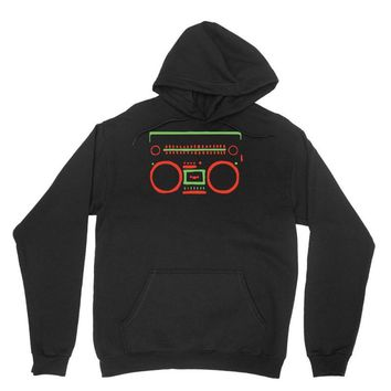 a tribe called quest   speaker hip hop the cutting edge Unisex Hoodie