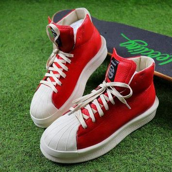 ONETOW Best Online Sale Adidas x Rick Owens Mastodon Pro Shoes Red / White Sneaker