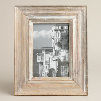 Whitewash Hayden Frames - World Market
